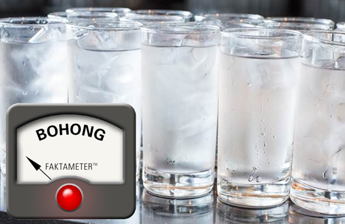 Minum Air Dingin Sebabkan Kanker Usus?