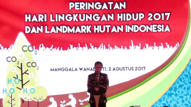 Pesan Jokowi pada Peringatan Hari Lingkungan Hidup 2017: Terobosan dan Pembaharuan
