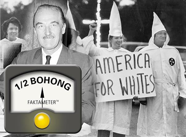 Benarkah Ayah Donald Trump Terlibat Ku Klux Klan?