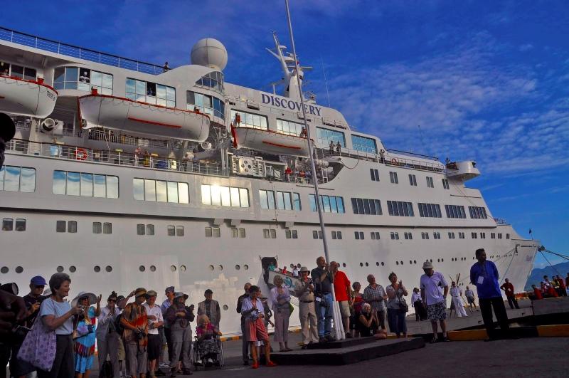 Diskon 50 Persen untuk Kapal Pesiar yang Masuk ke Indonesia