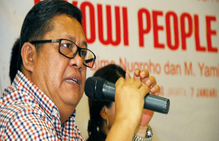 Seknas Jokowi, M Yamin