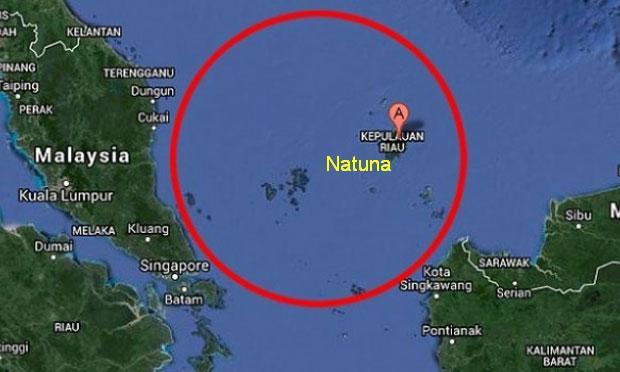 Menjaga Wilayah Maritim Natuna dengan Drone