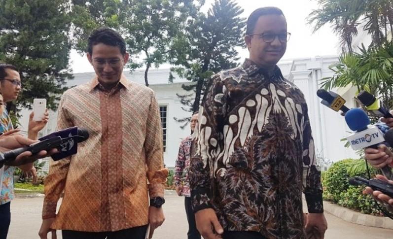 Anies-Sandiaga Temui Jokowi untuk Belajar Mengurus Jakarta