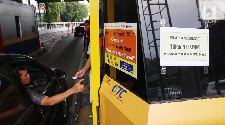 Mulai Hari Ini, Pintu Tol Tak Terima Pembayaran Tunai
