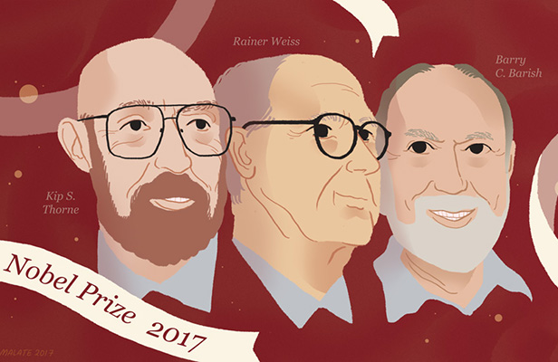 Trio Peraih Nobel Fisika Buktikan Ramalan Einsten 100 Tahun Lalu
