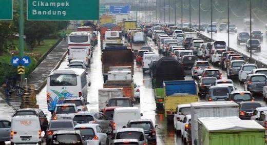 Upaya Jasa Marga Menghadapi Kepadatan Kendaraan di Puncak Arus Mudik Natal dan Tahun Baru
