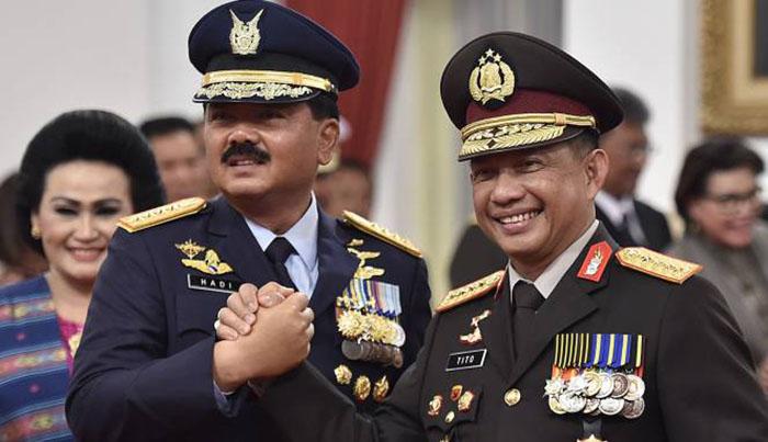 TNI-Polri Beri Jaminan Masyarakat dan Pengusaha Pelaksanaan Pilkada 2018 dan Pemilu 2019 Aman
