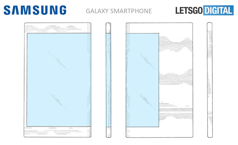 Samsung Patenkan Ponsel dengan Tampilan Sampul
