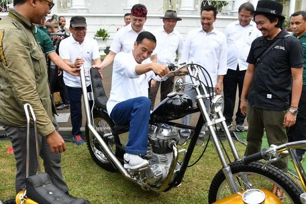 Motor Chopper yang Dibeli Jokowi