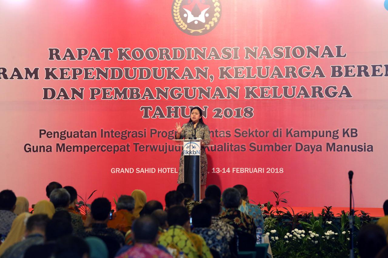 Puan Maharani Ingatkan Perlunya Sinergitas untuk Mendukung Kampung KB