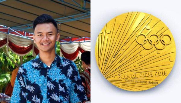 Pemenang Desain Medali Youth Olympic Games 2018
