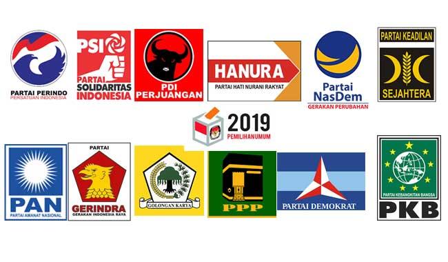 KPU Tetapkan 14 Partai Lolos Sebagai  Peserta Pemilu 2019