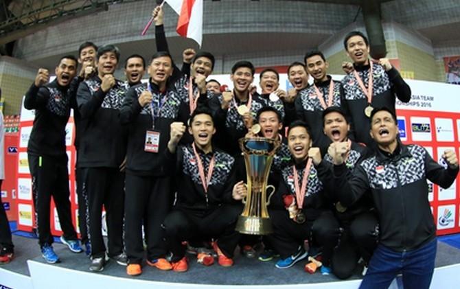 Tim Putra Indonesia Sukses Mempertahankan Gelar Juara Setelah Menggasak China 3-1