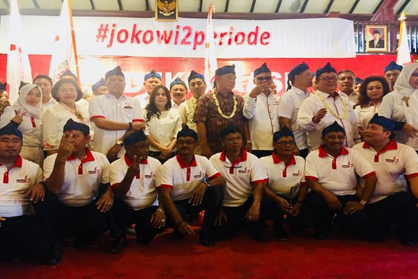 "Seknas Jokowi Deklarasikan Gerakan ""Jokowi 2 Periode"""
