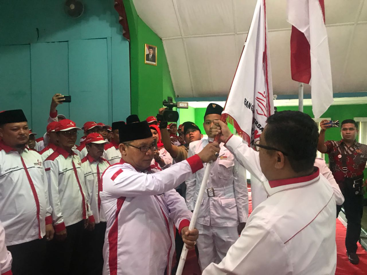 Seknas Jokowi Deklarasikan Lagi  Gerakan Nasional Jokowi 2 Periode di PALI