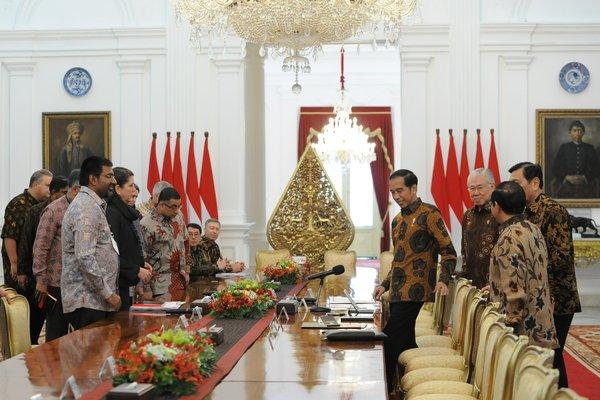 Bertemu US-ASEAN Business Council, Presiden Diskusi tentang Peringkat EoDB Indonesia