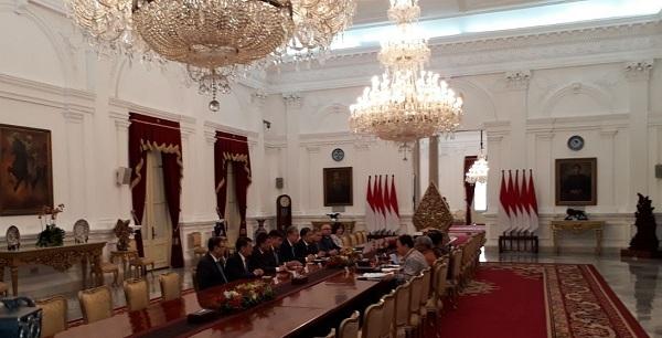 Presiden Jokowi Terima Delegasi Senat Parlemen Kazakhstan