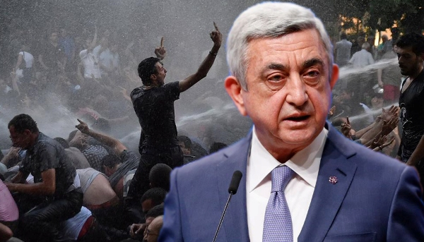 Didemo Besar-besaran, Perdana Menteri Armenia Mengundurkan Diri