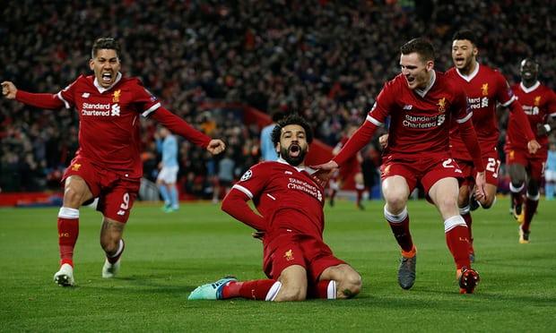 Mo Salah, Liverpool gilas Manchester City