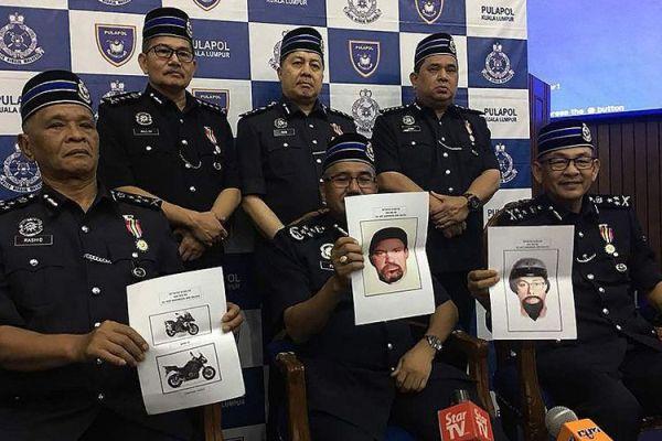 Malaysia Rilis Sketsa Dua Tersangka Pembunuh Ilmuwan Palestina