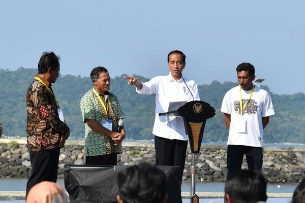 Presiden Jokowi Belum Mau Bahas Pilpres