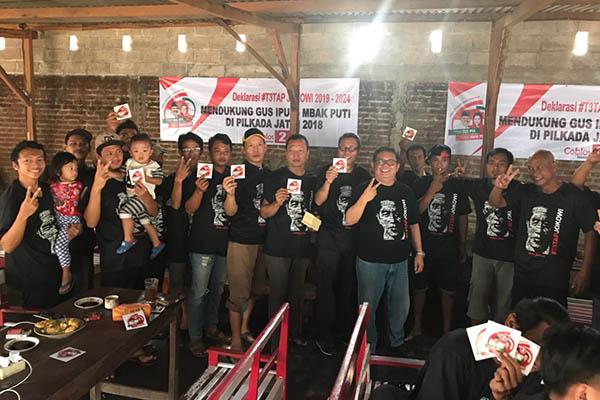 Respon Seruan Jokowi, Seknas Deklarasi Gerakan Nasional T3tap Jokowi