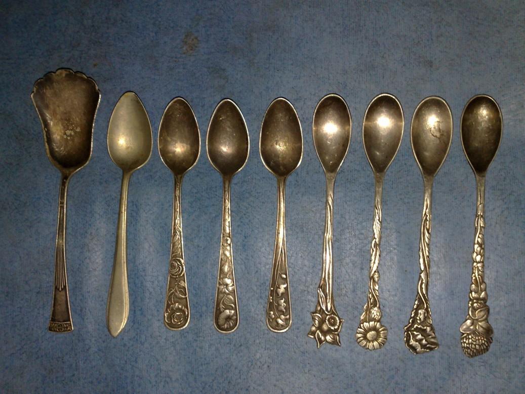 sendok antik, sejarah sendok
