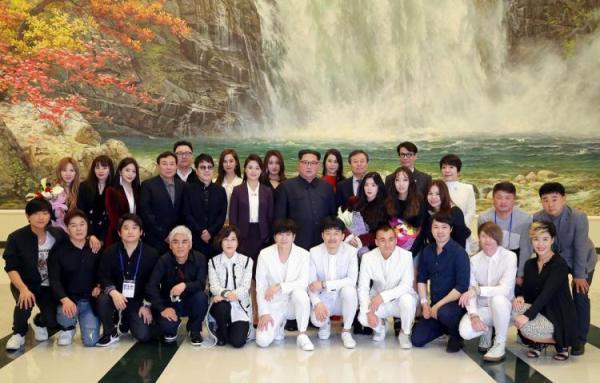 Ditemani Istri, Kim Jong Un Nonton Konser K-pop