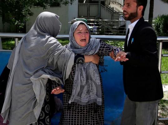 Bom Bunuh Diri Guncang KPU Afghanistan