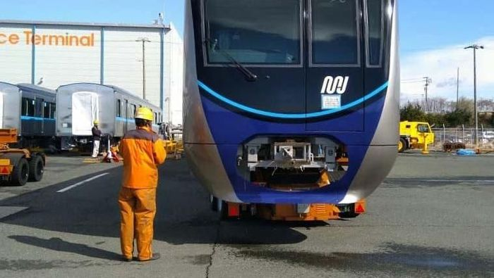MRT Pesanan Indonesia Sudah Tiba