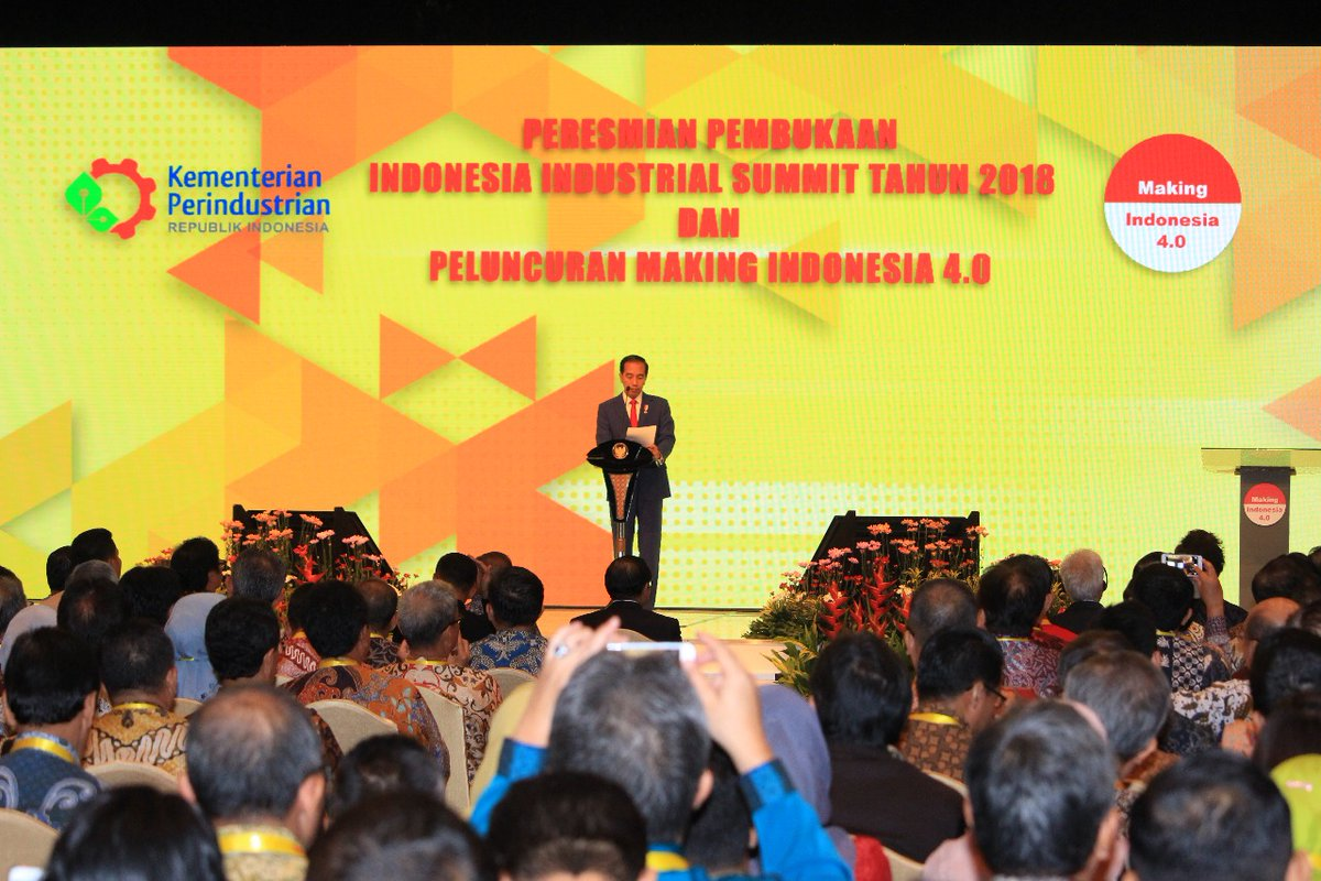 Presiden Jokowi, Revolusi Industri 4.0