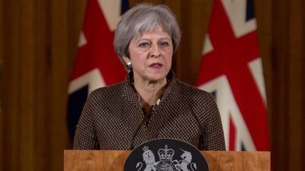 Serang Suriah, May Belum Dapat Persetujuan Parlemen Inggris