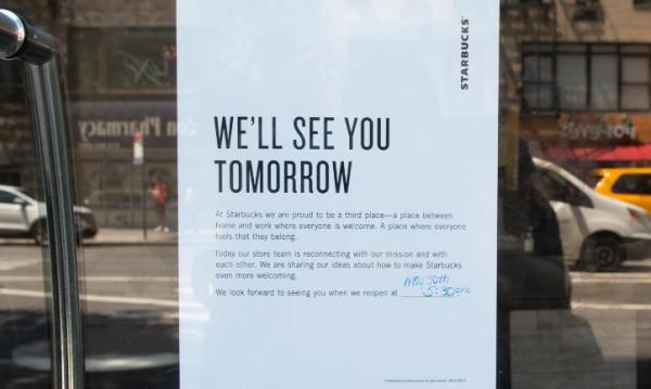 Pegawai Pelatihan Antirasis, Starbucks Tutup Gerai Sehari
