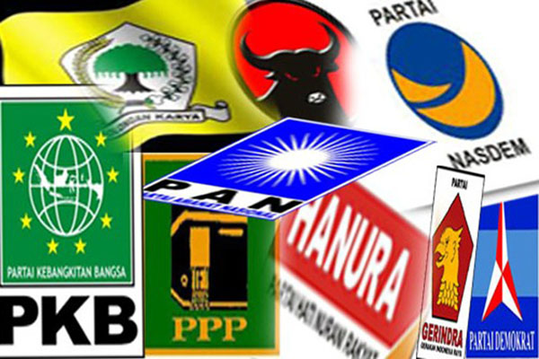Elektabilitas Parpol Rendah, PPP, Nasdem dan PAN Terancam Gagal ke DPR