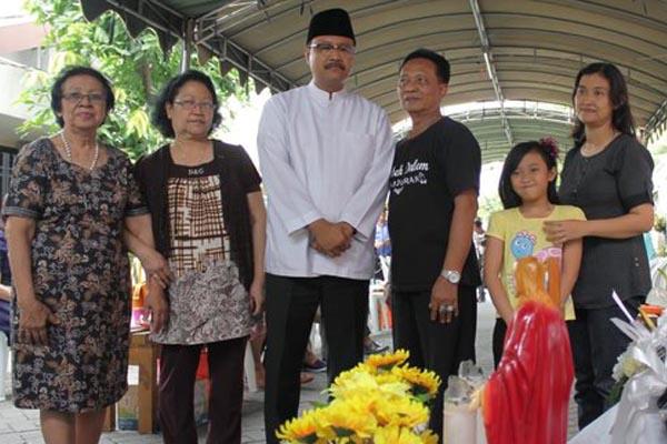 Gus Ipul Kunjungi Keluarga Korban Bom Surabaya dan Serukan Jangan Kalah dengan Terorisme