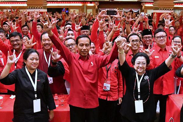 Survei Y-Publica: Elektabilitas Jokowi dan PDIP Tempati Posisi Teratas dalam Pemilu 2019