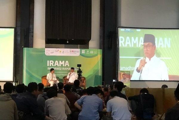 Kepala KSP Moeldoko Paparkan Sejumlah Kebijakan Penting Jokowi di Masjid Salman ITB