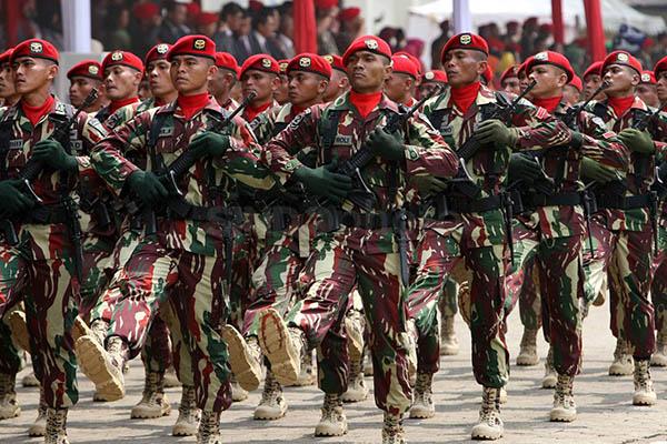 Kopassus Akan Ikut Terlibat dalam Operasi Penangkapan Teroris