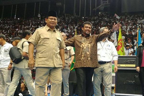 NasDem: Deklarasi Dukungan di Hari Buruh, Prabowo Takut dengan Jokowi