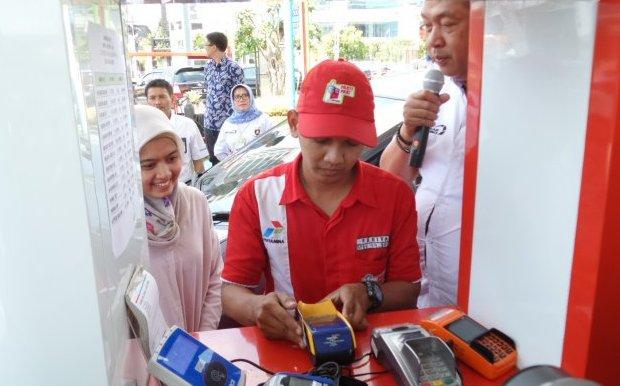 Pertamina Gandeng Mastercard Perluas Akses Transaksi Non Tunai di SPBU