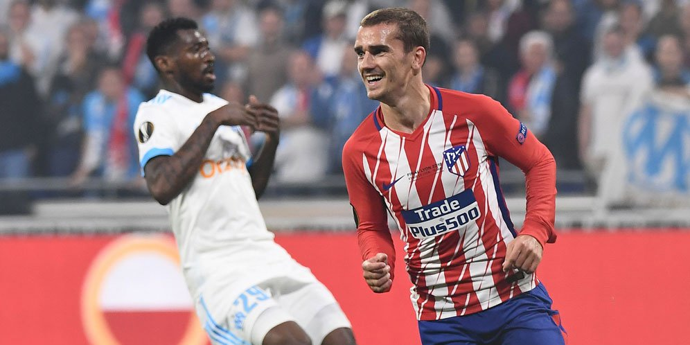 Antoine Griezmann Bawa Atletico Madrid Jadi Juara Liga Europa