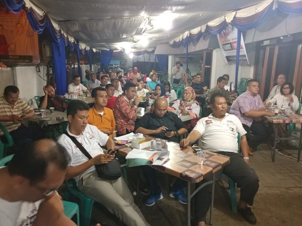 Diskusi dan Nobar Komunitas Alumni Smansa for DJOSS: Benny Tobing Sebut Djarot-Sihar Pantas Pimpin Sumut
