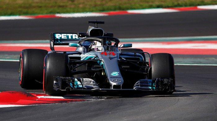 Lewis Hamilton Menjadi yang Tercepat di GP Spanyol