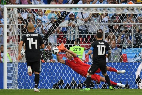 Halldorsson, akankah kembali bersinar di Eslandia vs Nigeria ?