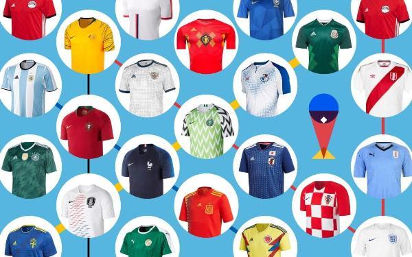 Jersey Piala Dunia 2018