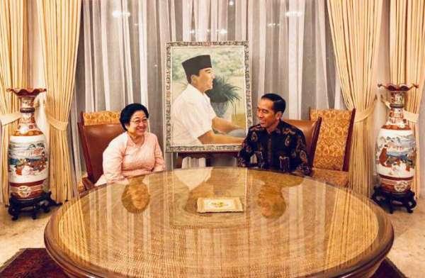 Pertemuan Jokowi-Mega Bahas Sejumlah Hal Strategis