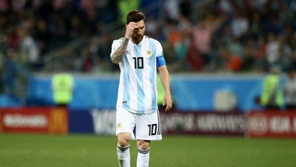 Seperti Tersambar Geledek, Argentina Dipecundangi Kroasia 0-3