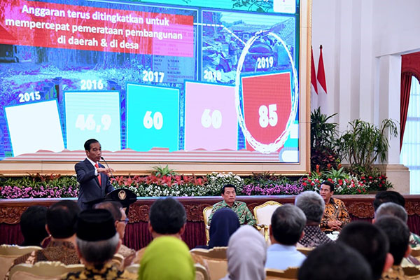 Presiden Jokowi Ingatkan Para Petani Pentingnya Diversifikasi Produk