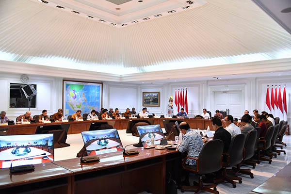 Pimpin Ratas, Presiden Ingin Pertemuan IMF-World Bank di Bali Lancar