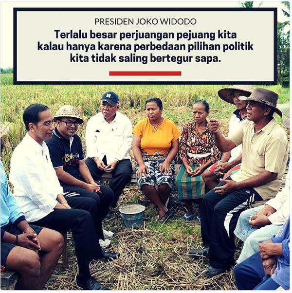 Presiden Jokowi Ingatkan Masyarakat Gunakan Hak Pilih, #PilkadaSerentak2018 Jadi Trending Topic